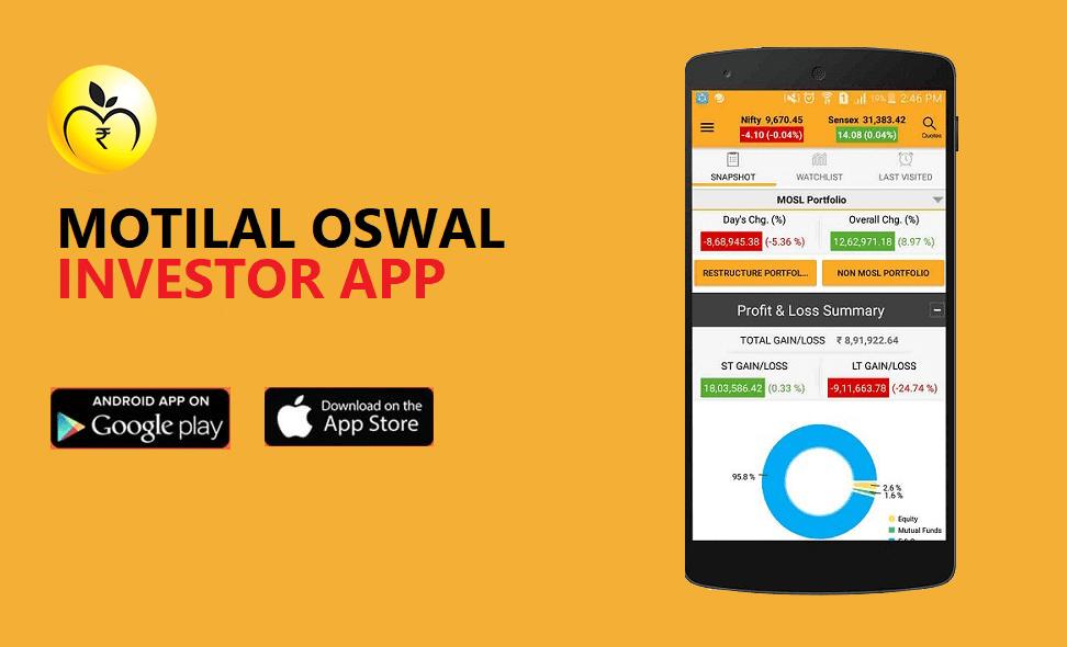MOTILAL OSWAL TRADING APP