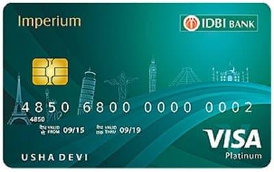 IDBI BANK IMPERIUM SECURE CREDIT CARD