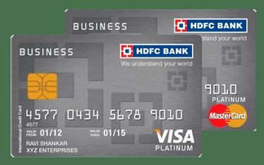 HDFC Business Platinum Credit Card