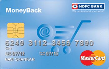 HDFC Money Back Credit Card