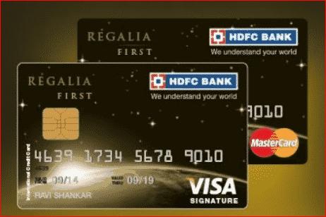 HDFC Regalia First Card