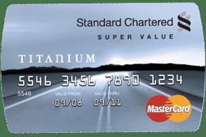 Super Value Titanium Credit Card - Standard Chartered