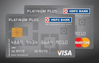 HDFC Platinum Plus Card