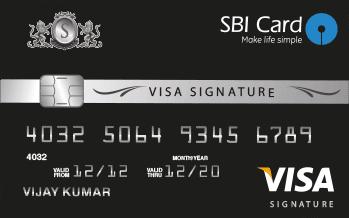 SBI SIGNATURE CREDIT CARD