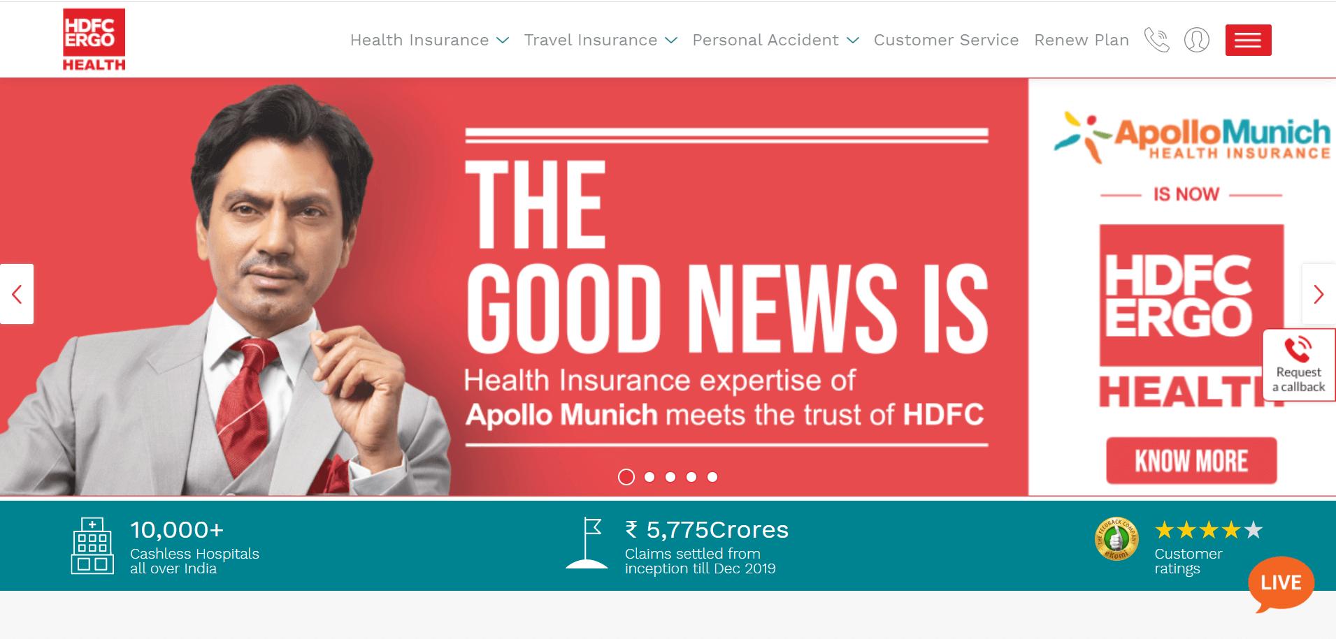 Apollo Munich Optima Restore Family Health Insurance Plan