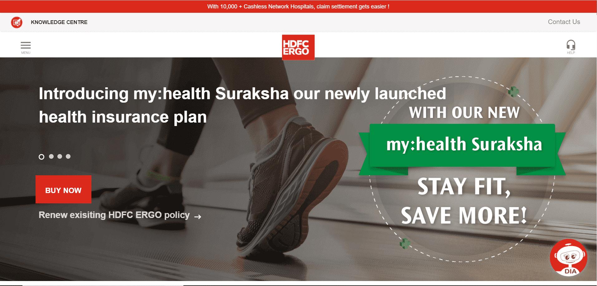 HDFC ERGO Health Suraksha