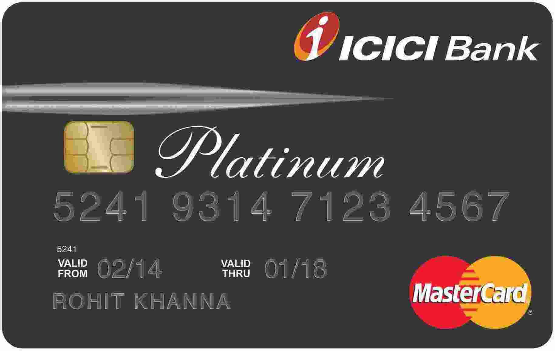 ICICI Platinum Chip Card