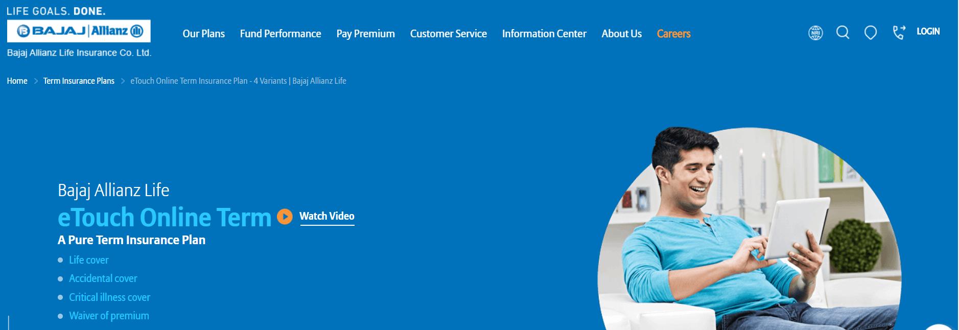 Bajaj Allianz iSecure Term Plan