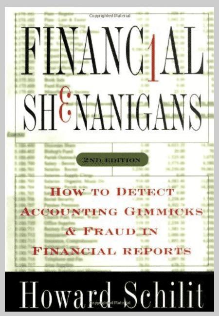 Financial Shenanigans by Howard M. Schilit