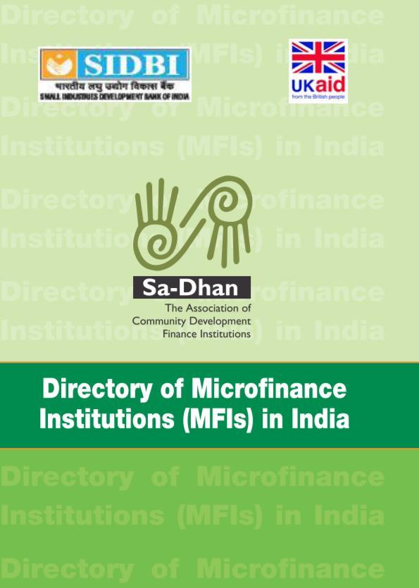Directory Of Microfinance Companies 2017-2018