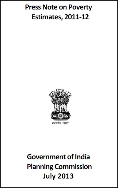 india poverty 2014 estimates pdf