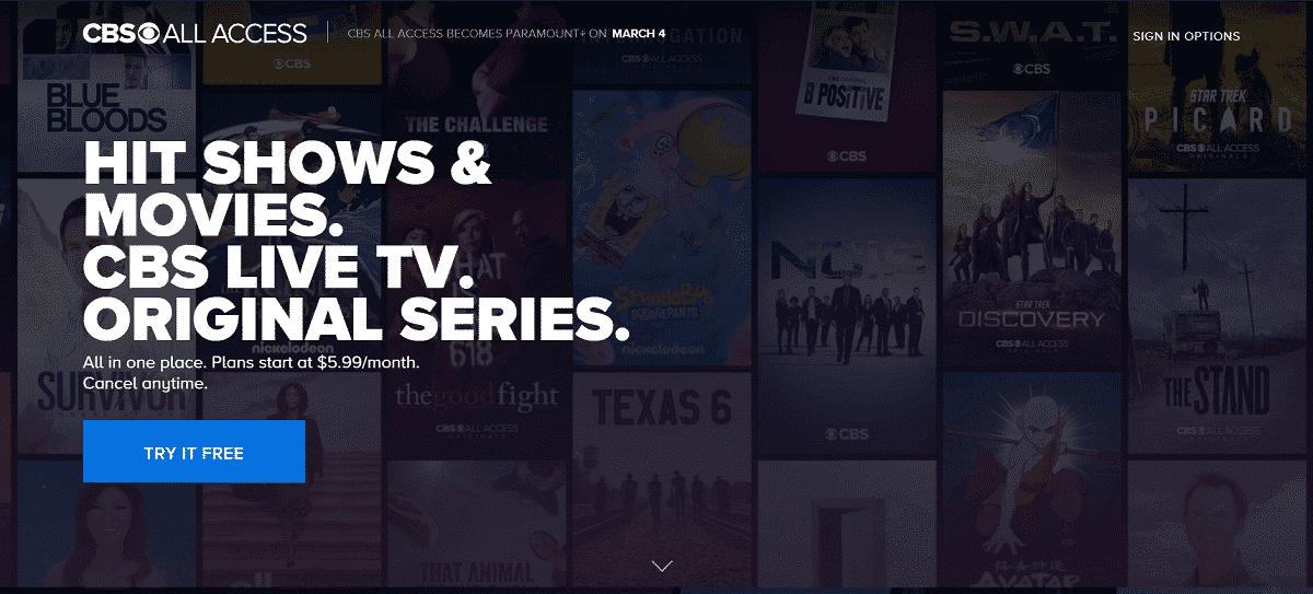 CBS All Access | Netflix Affiliate Program and Alternatives 2020