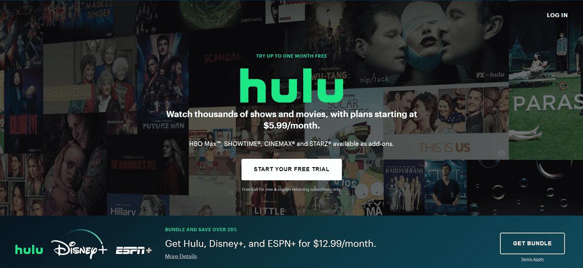 hulu | Netflix Affiliate Program and Alternatives 2020