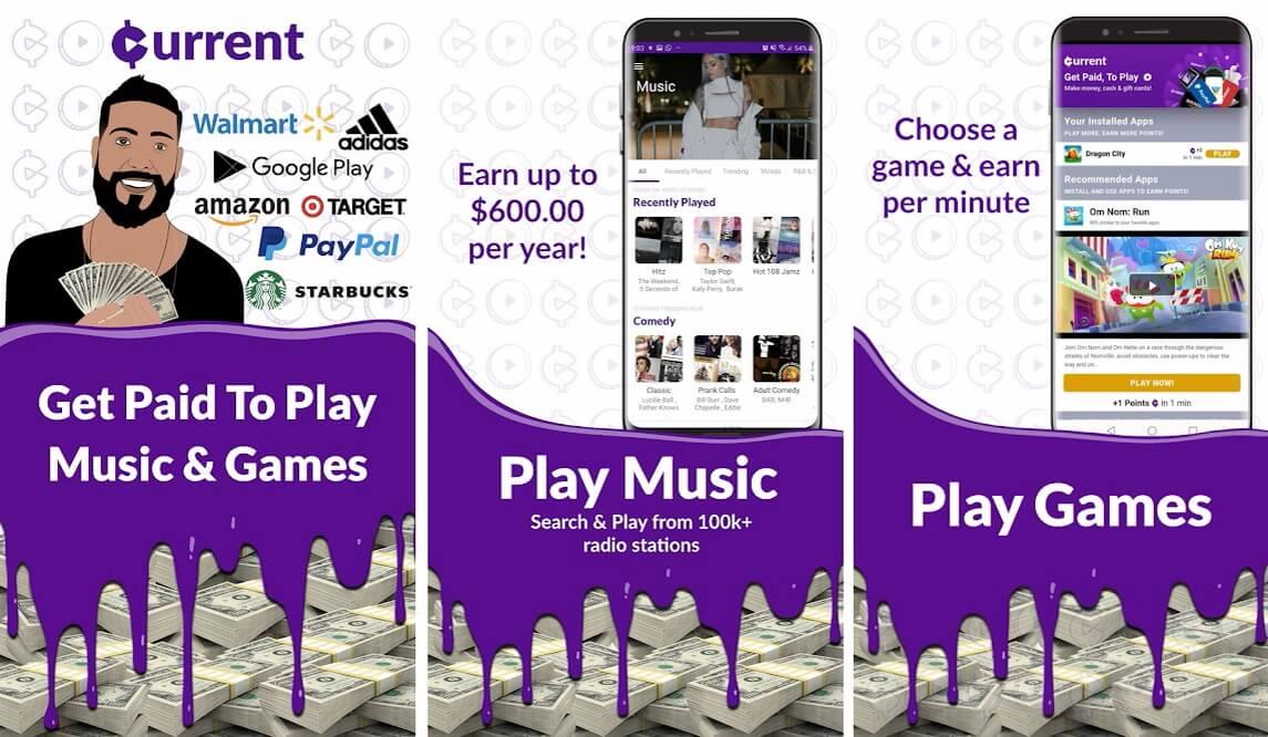 Current Rewards- Earn Cash Rewards