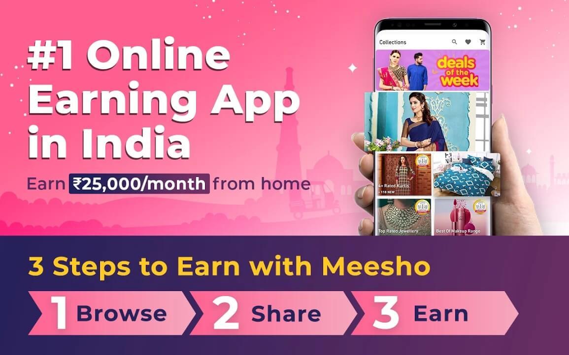 Meesho | Best Free Reseller Apps In India