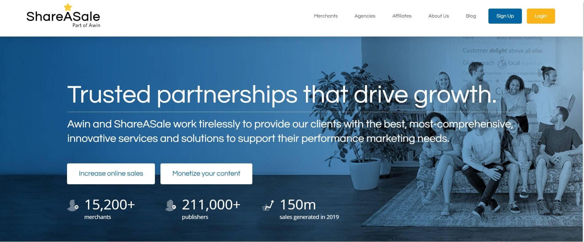 ShareASale   Best Affiliate Marketing Platforms & Networks