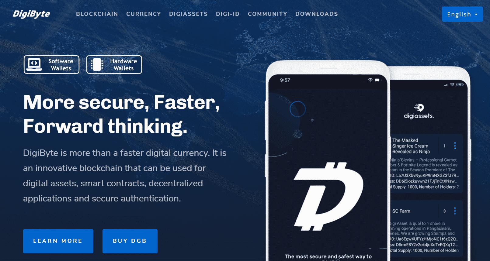 Digibyte - best cryptocurrency to mine