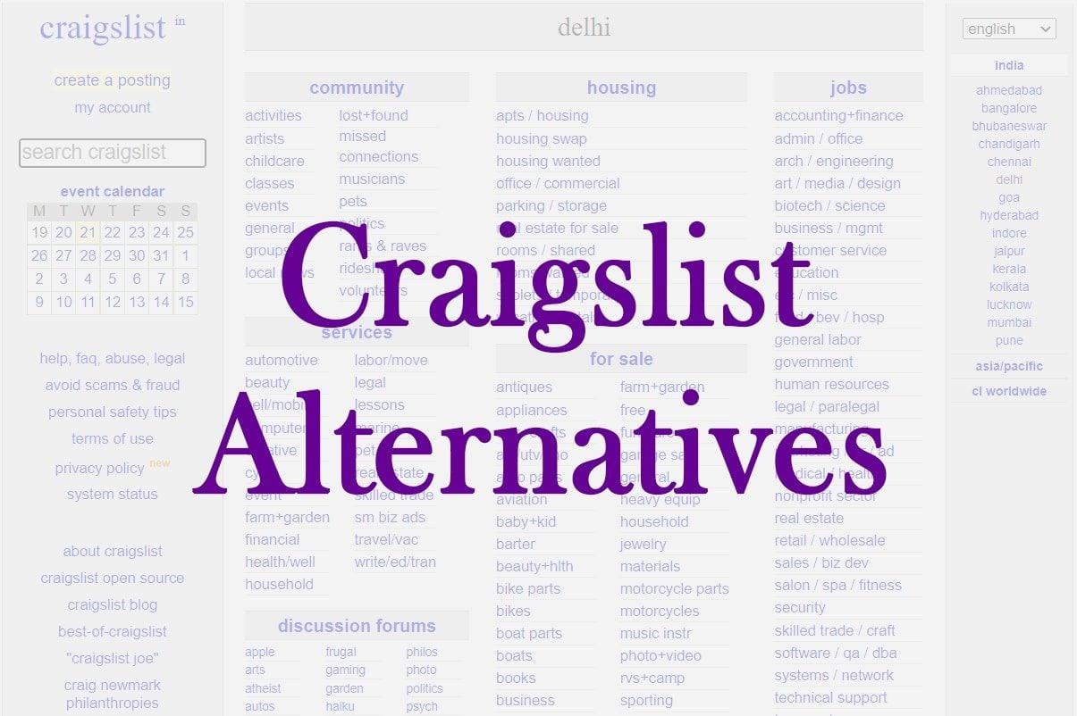 25 Best Craigslist Alternatives For Selling Your Stuff