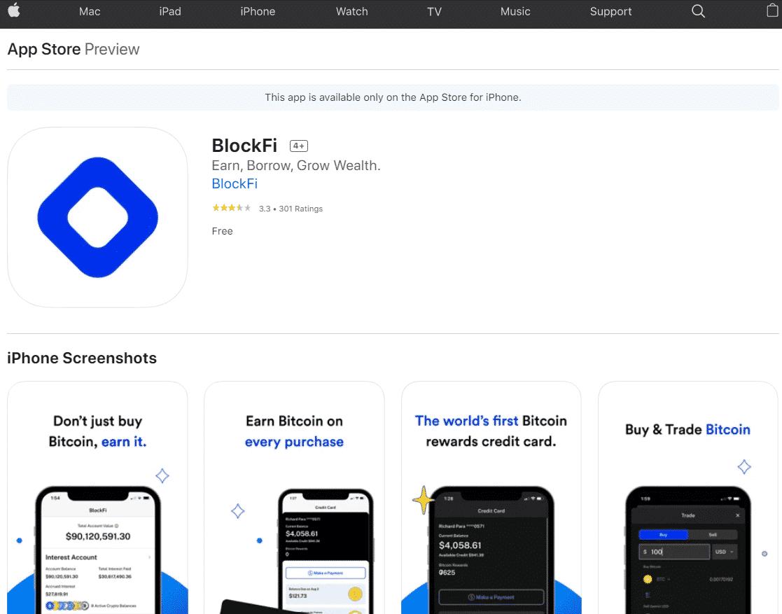 Block Fi on App Store | BlockFi Review: Is it legit or too risky?